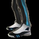 Carolina Track Pants and Sneakers