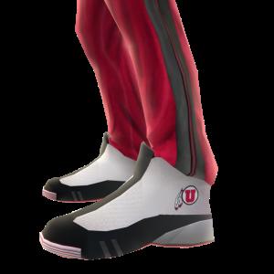 Utah Track Pants and Sneakers