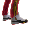 Senators Track Pants and Sneakers