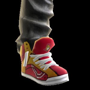 Senators Jeans and Sneakers