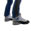 Lightning Track Pants and Sneakers
