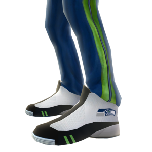 Seattle Track Pants and Sneakers