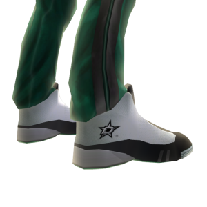 Stars Track Pants and Sneakers