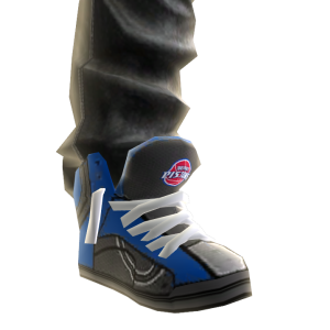 Pistons Jeans and Sneakers