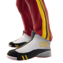 USC Track Pants and Sneakers
