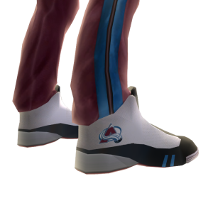 Avalanche Track Pants and Sneakers