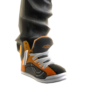 Oklahoma State Jeans and Sneakers