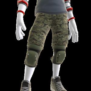 Dark Green Shorts and Pads