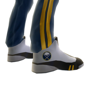 Sabres Track Pants and Sneakers