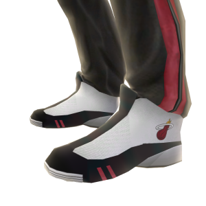 Heat Track Pants and Sneakers
