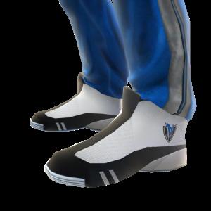 Mavericks Track Pants and Sneakers