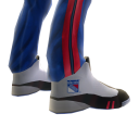 Rangers Track Pants and Sneakers