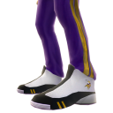 Minnesota Track Pants and Sneakers