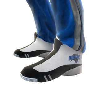 Magic Track Pants and Sneakers