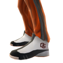 Oregon State Track Pants and Sneakers
