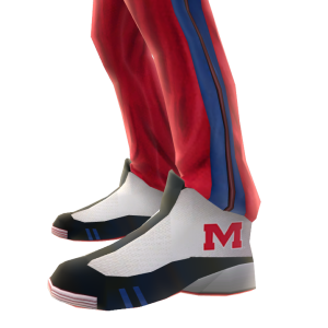 Mississippi Track Pants and Sneakers