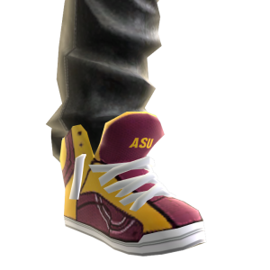 Arizona State Jeans and Sneakers