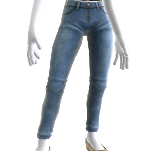 Skinny Jeans and Flats