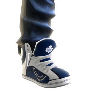 Maple Leafs Jeans and Sneakers