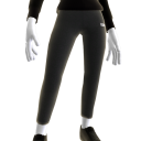 Grey Calculated Leggings