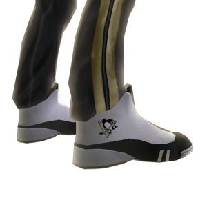 Penguins Track Pants and Sneakers