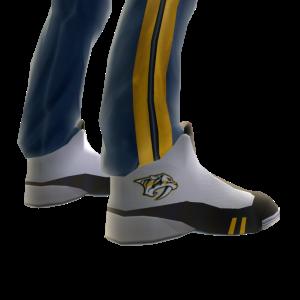 Predators Track Pants and Sneakers