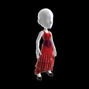 Costume de flamenco