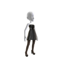 Vestido negro de etiqueta