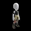 Futuristic Footballer Outfit