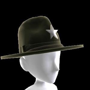 County Sheriff Hat