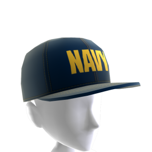 Navy Hat - Blue