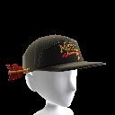 Chapeau fantaisie avec flèche