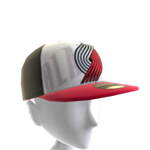 Trail Blazers Fitted Cap