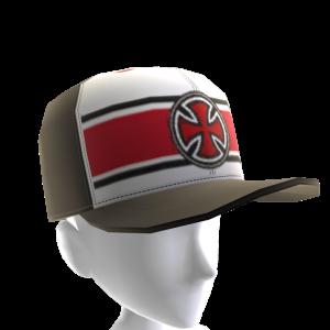 Strip Cross Cap