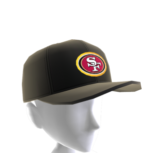 49ers Gold Trim Cap