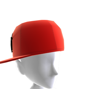 KKZ Red & Black Crown Fitted Hat