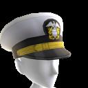 Casquette d'officier de la marine