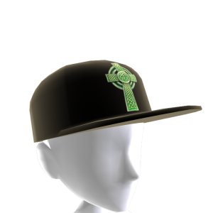 Epic St Pattys Celtic Hat Black 2