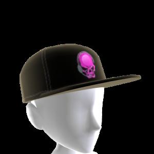 Epic Pink Gamer Skull Hat