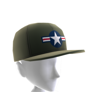 Air Force Stripes Hat - Green