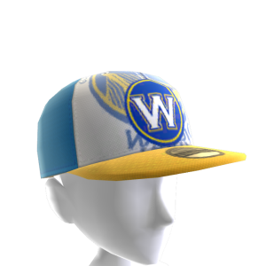 Warriors Fitted Cap