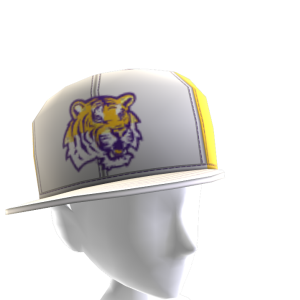 LSU Tilted Panel Cap