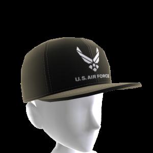 Air Force Hat - Black