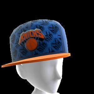 New York Tilted Pattern Cap