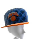 New York Tilted Pattern Cap