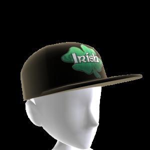 Epic St Pattys Clover Hat Black 2