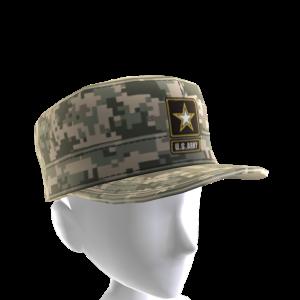 Army Camo Patrol Cap