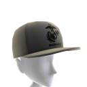 Marines Emblem Hat - Gray
