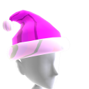 Hat Xmas Pink Chrome Santa