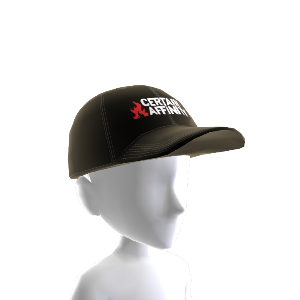 Czapka bejsbolowa: logo Certain Affinity